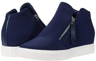 Steve Madden Click Wedge Sneaker (Grey) Women's Shoes