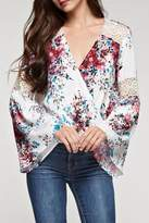 Love Stitch Lovestitch Bell Sleeve Top