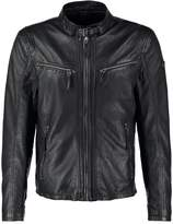 Gipsy Coby Leather Jacket Schwarz