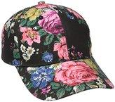 BCBGeneration Women's Floral Baseball Cap