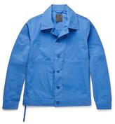 Craig Green Cotton-blend Jacket - Bright blue