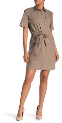 Theory Waist Tie Utility Dress
