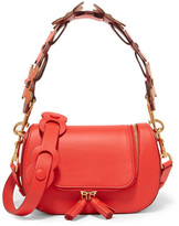 Anya Hindmarch Vere Circulus Mini Leather Shoulder Bag - Red