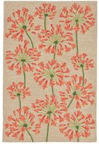 Liora Manné Trans Ocean Imports Ravella Desert Lily Indoor Outdoor Rug