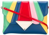 Sara Battaglia 'Bess' clutch - women - Calf Leather - One Size