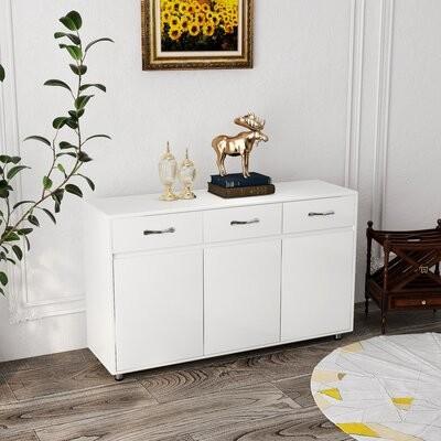 Latitude Run Garik 52 4 Wide Sideboard Color White Shopstyle