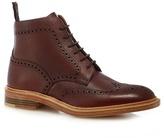 Loake Dark Red 'oxblood' Brogue Boots