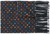 Paul Smith Tudor Rose print scarf
