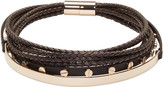 Givenchy Black Multi-Row Choker