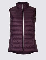 M&S Collection Down & Feather Gilet with StormwearTM