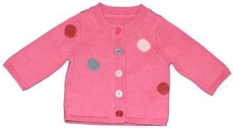 Petit Bateau 64771550 Girls' Cardigan Berry/Multi-Coloured - Pink - 12-18 Months