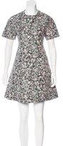 Proenza Schouler Wool-Blend Insulation Jacquard Dress