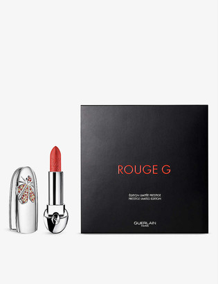 Guerlain Rouge G de Lunar New Year 21 lipstick case and refill 3.5g