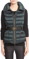 Moncler Women's 'Tareg' Water Resistant Belted Down Puffer Vest