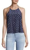 Rebecca Taylor Pullover Silk Tank Top