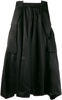Comme des Garcons Structured Midi-Skirt
