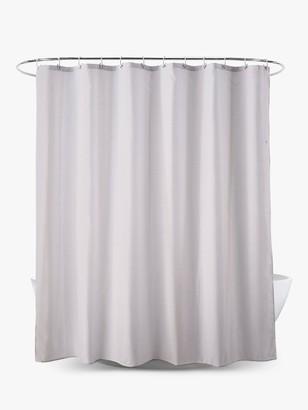 John Lewis & Partners Textured Seersucker Shower Curtain