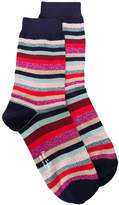 Paul Smith Striped Print Socks