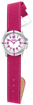 Scout 280390021 Girls' Watch Analogue Quartz Silicone
