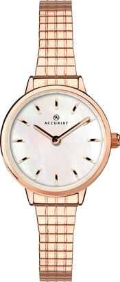Accurist Womens Japanese Quartz Watch With Expanding Bracelet