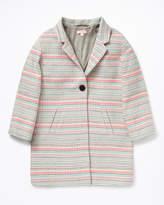 Jigsaw Summer Stripe Jacquard Coat