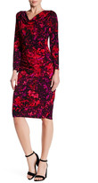 T Tahari Johanna Printed Dress