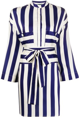 Jejia Striped Longline Shirt