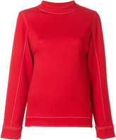 Marni stitch detail sweatshirt - women - Cotton/Polyamide - 38