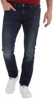 Diesel Mens Thavar 0814W Skinny Fit Jeans Blue Wash