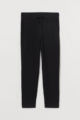 H&M H&M+ Fine-knit trousers