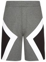 Neil Barrett Colour Block Neoprene Shorts