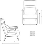Thumbnail for your product : John Lewis & Partners Hendricks High Back Accent Chair