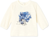 Petit Bateau Baby girls long-sleeved T-shirt with motif