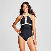 Merona Women's Keyhole High Neck One Piece