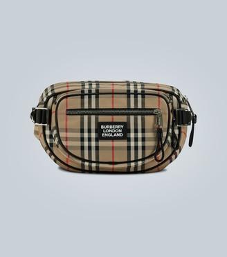 Burberry Cannon Vintage check belt bag