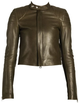 Bottega Veneta Quilted Leather Biker Jacket