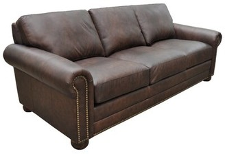 Athens Genuine Leather Chesterfield Sofa Omnia Leather
