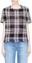 Barena 'Aura' tartan plaid woven T-shirt