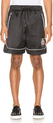 Keiser Clark The Academy Tracksuit Shorts in Black & White | FWRD