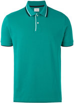 Peuterey striped collar polo shirt - men - Cotton - L