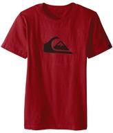 Quiksilver Mountain Wave Logo Screen Tee (Big Kids)