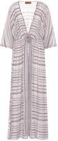 Missoni Mare Chevron-knit maxi dress