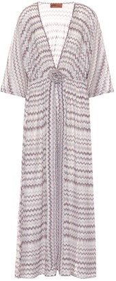 Missoni Mare Chevron-knit maxi dress