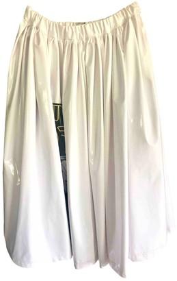 Miu Miu White Patent leather Skirt for Women
