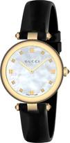 Gucci YA141404 Diamantissima stainless steel watch