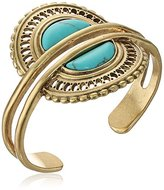 Lucky Brand Turquoise Double Cuff Bracelet