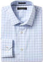 Banana Republic Camden Standard-Fit Non-Iron Stretch Windowpane Shirt