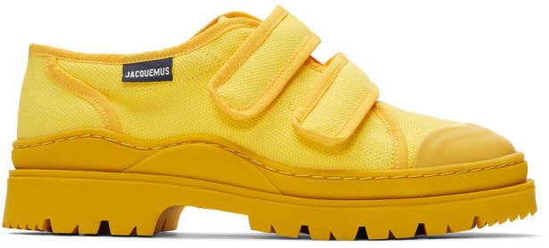 Jacquemus Yellow Les Chaussures Gadjo Sneakers