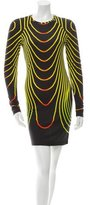 Christopher Kane Printed Jersey Knit Dress w/ Tags