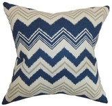 Quirindi Zigzag Cotton Throw Pillow Cover The Pillow Collection Color: Birch